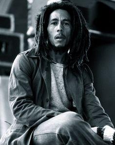 Literally a cool, cool shot of Bob Marley.