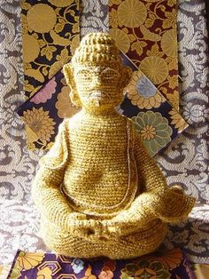 HOW can you NOT have a crochet buddha?