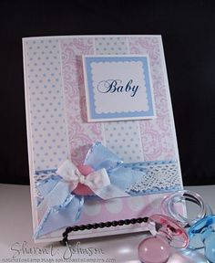 Baby Shower Card by notimetostamp - Cards and Paper Crafts at Splitcoaststampers