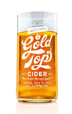 Gold Top Cider