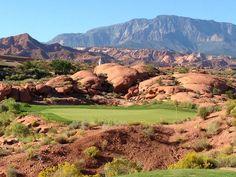 Coral Canyon Golf Course in Washington, Utah. #golfcourse #southernutah #stgeorge