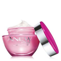 Avon Anew Vitale products and reviews! Great Avon face cream for women in their 30's!