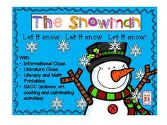 Pease enter our The Snowman Unit Giveaway!! Enter for your chance to win 1 of 3. The Snowman with closes, shared reading, framed writing, literacy/math and SACC  (172 pages) from KiddosConnect on TeachersNotebook.com (Ends on on 01-15-2017) This winter unit includes a variety of educationally fun activities.  .