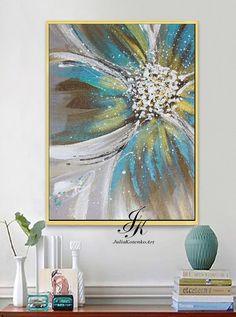 Floral print, printable flowers, p art - Floral Garden Ideas Acrylic Painting Inspiration, Contemporary Abstract Art, Modern Art, Diy Canvas Art, Flower Art, Watercolor Art, Printable Wall Art, Art Floral, Carven