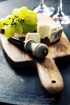 Wine, grape and cheese by Natalia Klenova on 500px