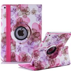 f3320309e81 Lucky Flower Sweet Floral Girl's Leather Case for Apple IPad Air Leather  Cases Stand Cover for Apple IPad Air 2 for IPad 6