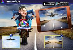 Instafusion Editing App #inclusive #Advertising #Development #Google #equality  #blends #blended #Technologies #unique #opticalillusion #illusion #image !! https://play.google.com/store/apps/details?id=com.techbla.instafusionfree