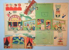 Peep in Movie Book Cut Out Penny Arcade Ruth E Newton Whitman 1933 | eBay