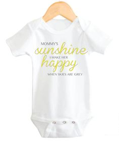 Mommy's+Little+Sunshine+My+little+sunshine++by+LittleAdamandEve,+$15.48