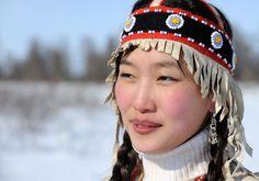Mädchen aus Siberia, Russland