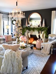 When it comes to choosing out a rug for my living room, I always like to go neutral to make sure it ties in with whatever decor I have at the moment. This beautiful rug from HomeGoods was perfect the moment I saw it! The color and detailing make it the perfect addition to any room in my house. (Sponsored pin)