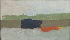 Nicolas de Staël, Mantes, 1952