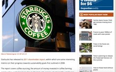 Led issues and crisis management for Starbucks Canada, 2008-10, 24/7. Major issues including environmental: cup recycling, water wastage and BPA