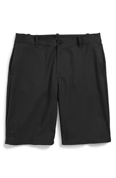 Boy's Under Armour 'UA Golf - Utility' StormGear Water Repellent Shorts