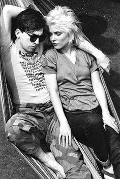 "Debbie Harry & Chris Stein - ""In the Flesh"" Blondie"
