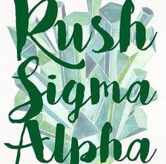 Rush sigma alpha