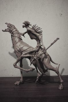 Visual Reverence - ex0skeletal: Sculptures bySadania