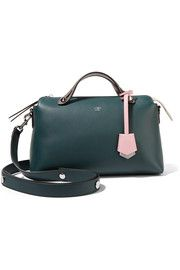 By The Way small color-block leather shoulder bag