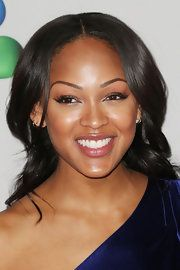 Meagan Good Long Curls - Meagan Good Looks - StyleBistro Megan Good Haircut, Cool Haircuts, Easy Hairstyles, Hairstyle Ideas, Black Is Beautiful, Gorgeous Hair, Stacey Dash, Meagan Good, Beauty Around The World