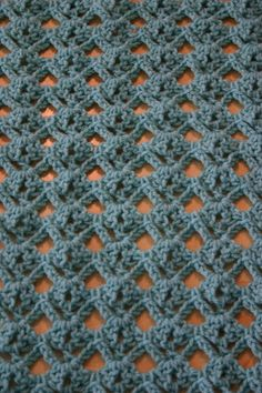 suziQcreations: Diamond Lace Stitch Tutorial (this would make a lovely scarf in lighter weight yarn)