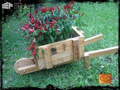 Pallet Wheelbarrow Planter Pallet Planters & Compost Bins