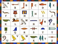 alfabeto egizio
