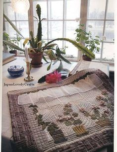 Nordic Quilts by Yoko Saito, Japanese Craft Pattern Book for Patchwork Quilt… Patch Quilt, Applique Quilts, Scandinavian Quilts, Japanese Patchwork, Patchwork Bags, Asian Quilts, Yoko Saito, Sewing Room Decor, Landscape Quilts