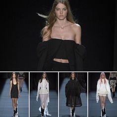 Extended Sleeves from @verawanggang #NYFW #ss17 #catwalk #black #white #collection #architecture #corsetry #volume #fashion #inspiration #instagood #design #spring2017 #readytowear #outfit #verawang #dream #minimal #tbt #newyork #fashionweek