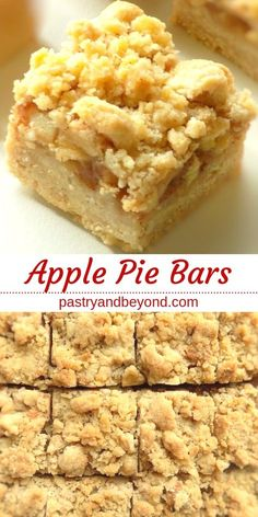 Apple Pie Bars Recipe-This delicious apple pie bars recipe with crumb topping is., Pie Bars Recipe-This delicious apple pie bars recipe with crumb topping is crunchy and soft. You'll use the same shortbread dough for the crust . Apple Pie Cookies, Apple Pie Bars, Apple Bread, Apple Slab Pie, Apple Pie With Crumb Topping Recipe, Crumb Pie Crust Recipe, Candy Apple Bars, Apple Pie Muffins, Apple Pie Crust
