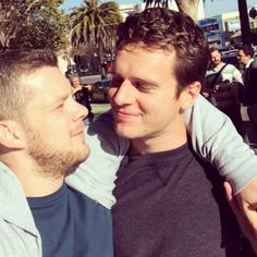 Soon the be reunited with my #jonathangroff on @lookinghbo #looking #hbo…