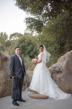 Shabby Chic Garden Wedding At The Secluded Garden Estate In Temecula | Photograph by Jennifer Corbin Photography