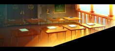 ArtStation - Harold casual trailer BG02, Cyril Corallo