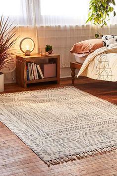 Urban Outfitters Ari Block Printed Rug boho, bohemia home decor