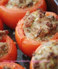 Le thermomix de Kitty: automne tomates farcies