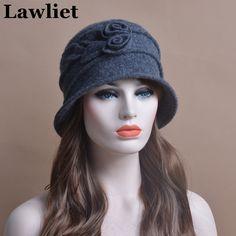 $9.28 (Buy here: https://alitems.com/g/1e8d114494ebda23ff8b16525dc3e8/?i=5&ulp=https%3A%2F%2Fwww.aliexpress.com%2Fitem%2FT176-Beret-Winter-Hat-And-Winter-cap-for-women-100-Wool-Crochet-Bucket-Cloche-Beanies-Bucket%2F32727424884.html ) 100%Wool Fashion Beret Cap Church Hats  for women Female Bucket Cloche Hats in the life Brand New Thick Female Winter hatT176   for just $9.28