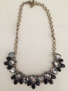 Midnight palace collar necklace. Candiwithmarie.com