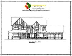 Wild Magnolia Acres Front Elevation #KCHomeDesign #NewConstruction #CustomDesign #Architecture #ArtisanHome #Artisan #DreamBig #Design #ArtisanDesign