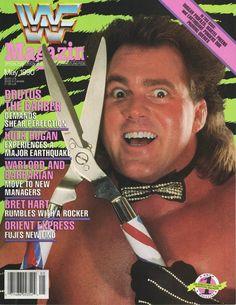 Vintage WWF Magazine May 1990 Issue Brutus Beefcake on cover Wrestling