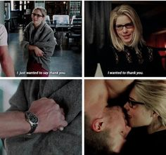 Arrow - Oliver & Felicity #2.7 #4.6 #Olicity <3