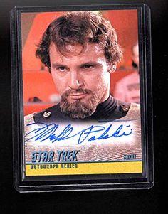 Star Trek Original series Michael Pataki autographed card @ niftywarehouse.com #NiftyWarehouse #StarTrek #Trekkie #Geek #Nerd #Products