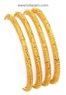 22kt Indian Gold Bling Cling Pinterest Gold bangles Bangle
