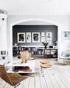 """Top Instagram Home Decor Trends. I think I'm  """"boho luxe"""" with a side of Scandi/Parisian modern ..."""