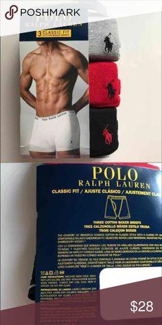 Polo Ralph Lauren men underwear 3 pack S/M/L/XL Brand new 3 pack boxer briefs. Calvin Klein Underwear Underwear & Socks Boxer Briefs