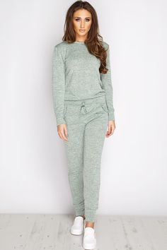 Megan McKenna Mint Loungewear Set at misspap.co.uk