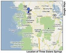 Three Sisters Springs Florida Map.14 Best Three Sisters Springs Images Crystal River Florida Three