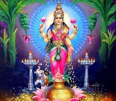 Lakshmi is also an important deity in Jainism and found in Jain temples Lakshmi hindu art Lakshmi wealth Lakshmi goddesses Lakshmi haram Lakshmi tanjore painting Lakshmi vaddanam Lakshmi bangle Lakshmi decoration Lakshmi necklace Mother Kali, Divine Mother, Mother Goddess, Goddess Art, Goddess Lakshmi, Cat Videos For Kids, Diwali Pooja, Spiritual Images, Lord Ganesha