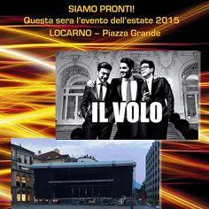 """@EMME_Lugano: Concerto """"Il Volo"""" Locarno."""