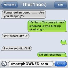 Page 43 - Autocorrect Fails and Funny Text Messages - SmartphOWNED