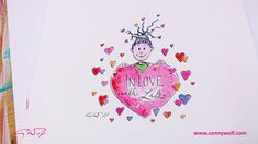 "Conny Wolf: Skizzen Blog 04 - Stineliese ""Valentinstag"" Wolf, Animation, Make It Yourself, Videos, Valantine Day, Sketches, Thoughts, Wolves, A Wolf"