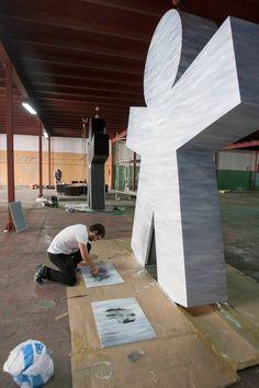 #arte10 Jose Luis Ochoa Pipol Africa Foto Alberto Aja.  Fuente: El Diario Montañes.